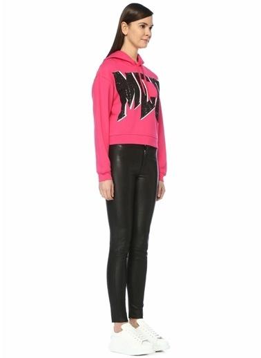 McQ Alexander McQueen Sweatshirt Fuşya
